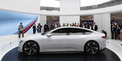 Nio ET Preview at Shanghai AutoShow