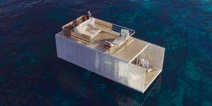 Alojamiento flotante Punta de Mar
