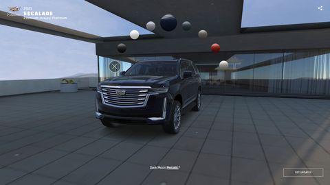 2021 Cadillac Escalade Visualizer