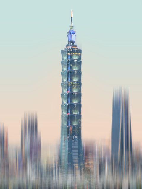 攝影師林育良藝術攝影展「表裡之城visualizing the city」解構台北101大樓,以多元視角呈現城市樣貌