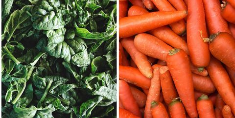 Carrot, Natural foods, Local food, Vegetable, Food, Root vegetable, Baby carrot, Superfood, Vegan nutrition, Plant,