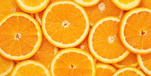 oranges sliced