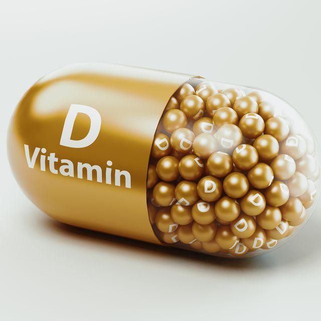 vitamin pills or capsules