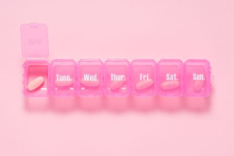 Pink, Product, Text, Magenta, Font, Material property, Finger, Liquid, Plastic,