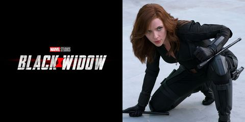 Viuda Negra Black Widow Marvel