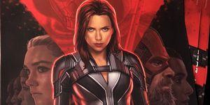 Viuda Negra Black Widow póster oficial