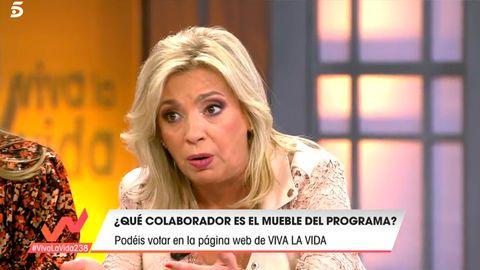 Carmen Borrego en Viva la vida