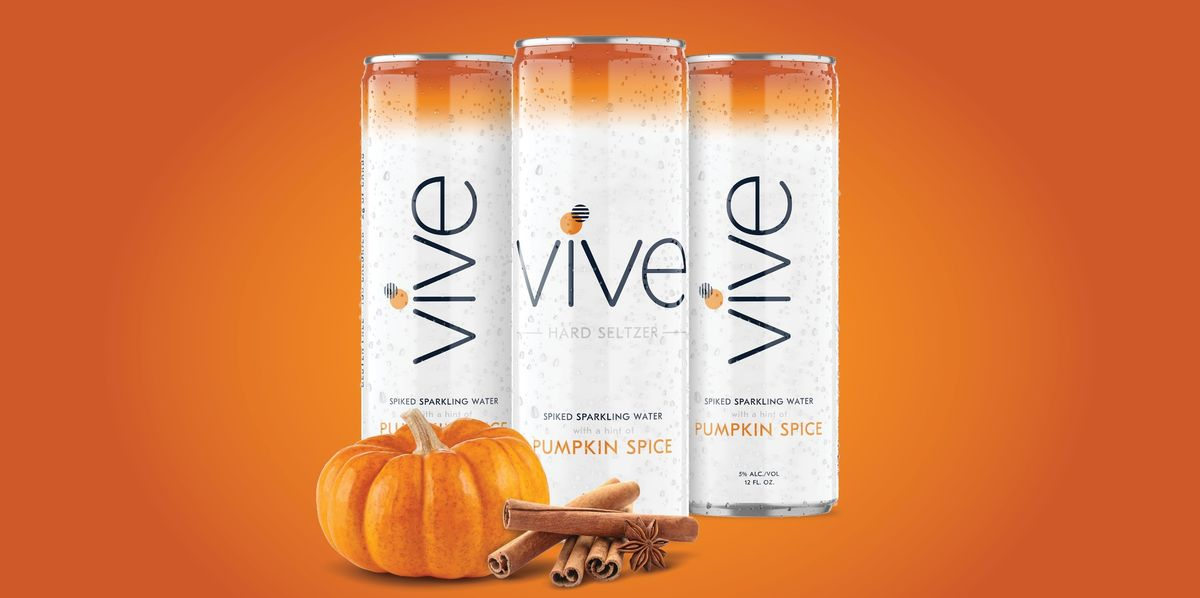 Pumpkin Spice Spiked Seltzer Is Here, And It's All I'm Drinking This Fall
