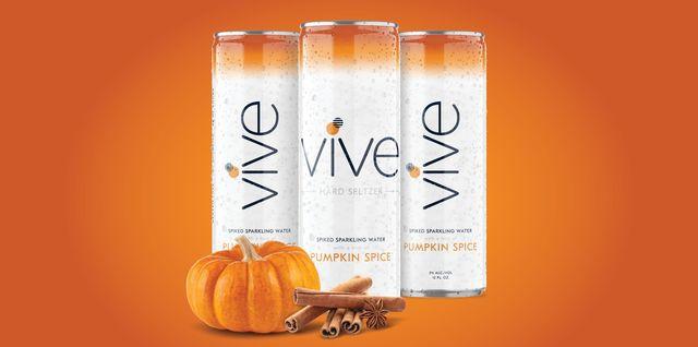 vive pumpkin spice seltzer