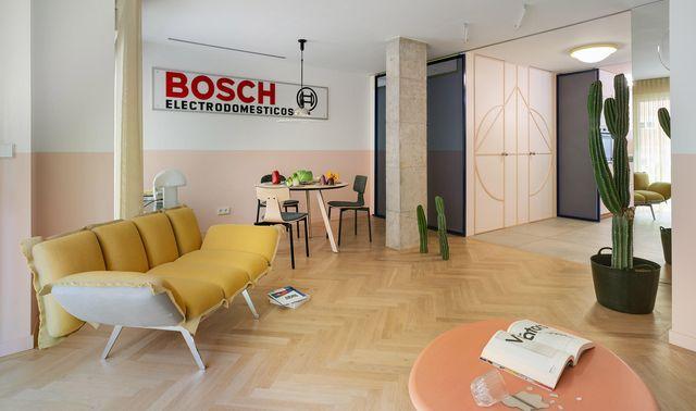 una antigua oficina transformada en vivienda por el estudio numero 26