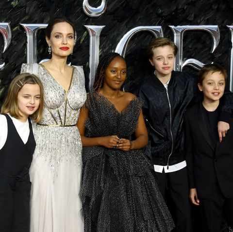 Angelina Jolie Gets Candid About Parenthood