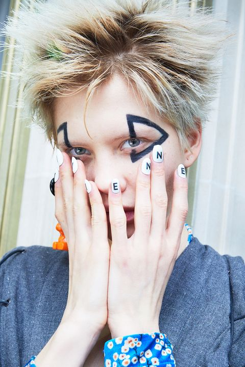 Vivienne Westwood nails