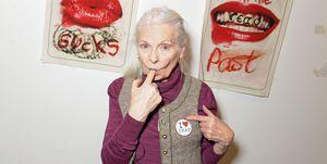 Vivienne Westwood True Punk tentoonstelling Herfst/Winter 2020 show London Fashion Week
