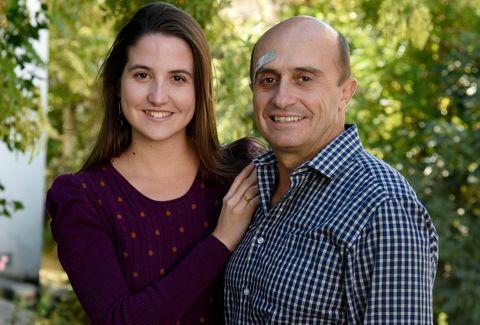 Pepe Viyuela y su hija Camila