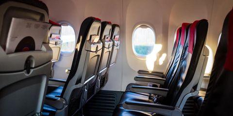 Vliegtuig meest vieze plekken