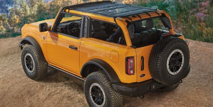 See the 2021 Ford Bronco's Nearly 200 Available Accessories