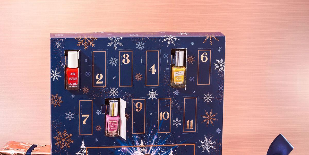 Inside Barry M's first beauty advent calendar