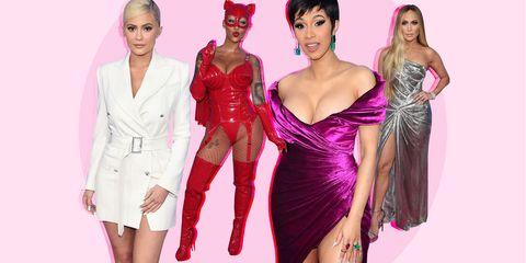 Fashion model, Clothing, Pink, Fashion, Dress, Latex clothing, Magenta, Fashion design, Cocktail dress, Model,