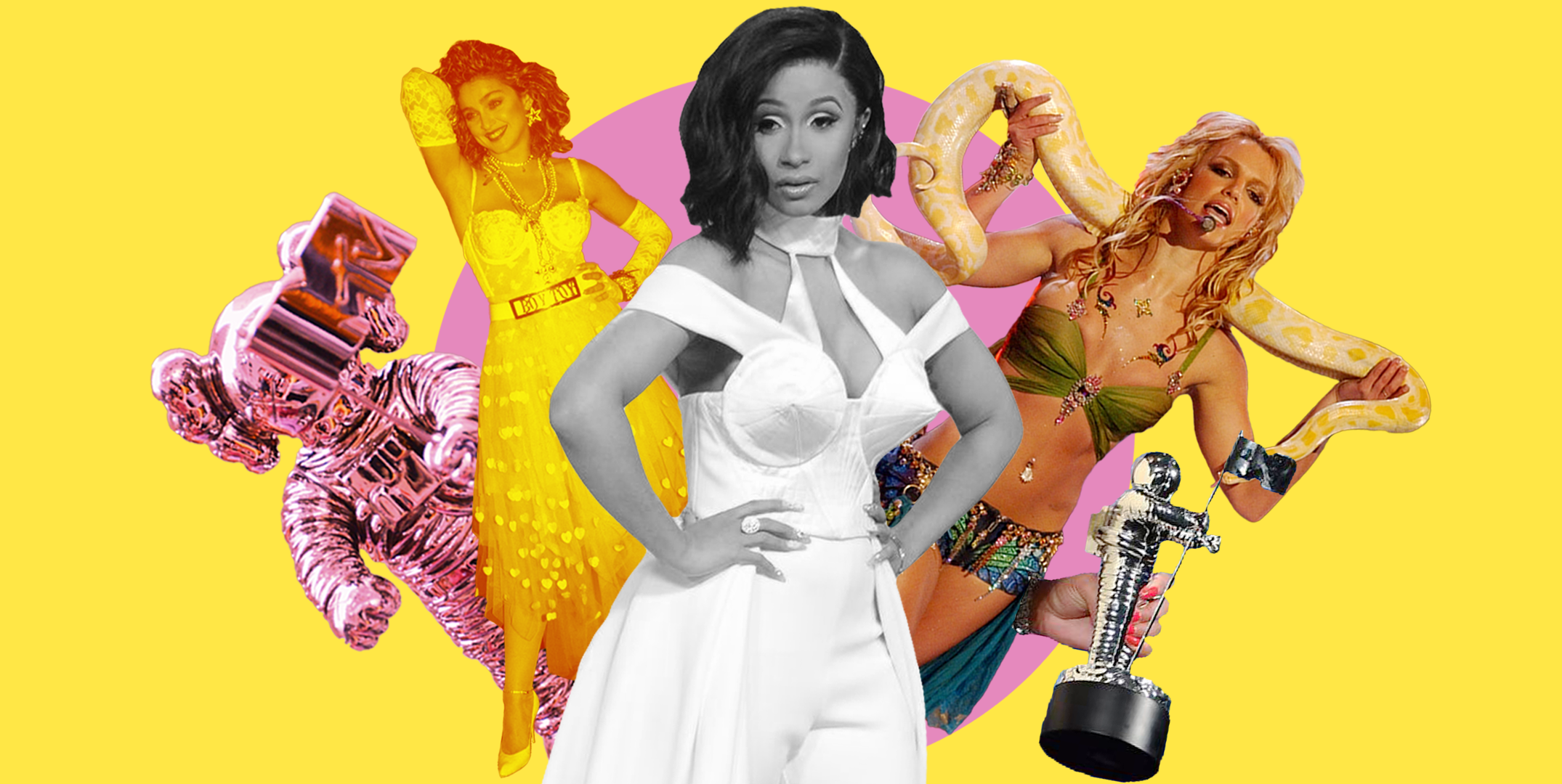 35 of the Most Jaw-Dropping VMAs Look the Year You Were Born