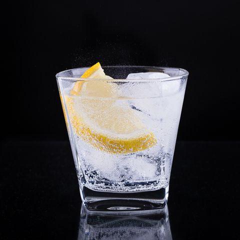 Low calorie alcohol drinks: Vodka soda