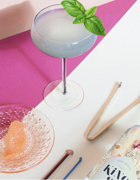Food, Drink, Pink, Smoothie, Cocktail, Cocktail garnish, Cuisine, Recipe, Dish, Ingredient,
