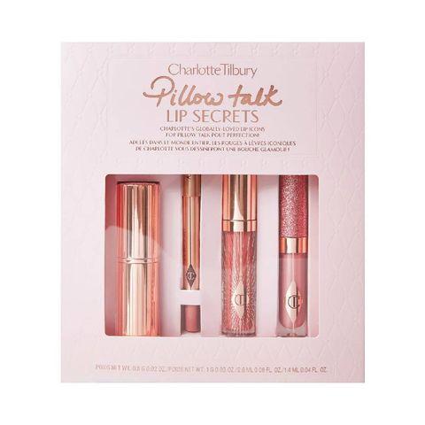 charlotte tilbury pillow talk lip secrets   limited edition mini make up set
