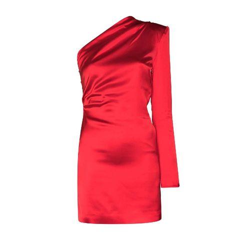 gauge81 asymmetrische jurk