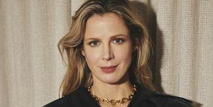 Vogue's hoofdredacteur Rinke Tjepkema in Vogue april 2020.