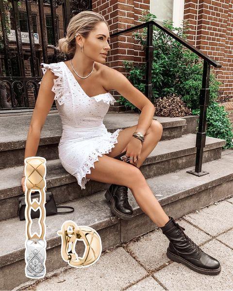 nikkie plessen onthult haar favoriete accessoires, van scrunchie tot bandana