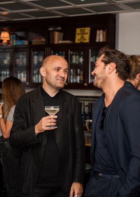 Vogue Man & Montblanc toverden het Soho House om tot een Gentlemen's Club