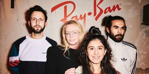 d4bba7ce4dee09 Vogue Nederland en Ray-Ban vieren lancering van Ray-Ban-brillen op sterkte