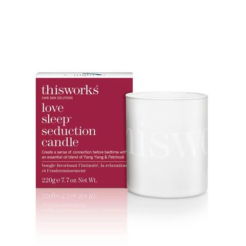 this works this works   love sleep candle
