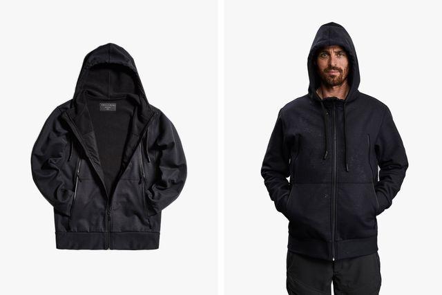 man wearing vollebak jacket