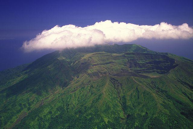 volcan de la soufriere, saint vincent