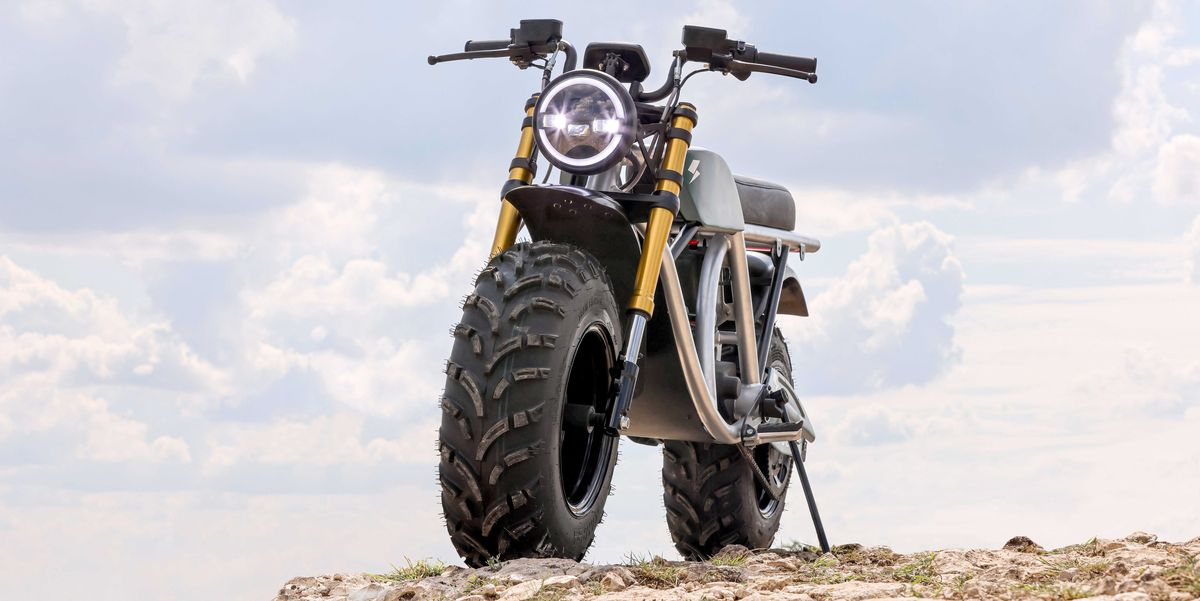 This New Electric Motorcycle Is a Waterproof Off-Road Beast