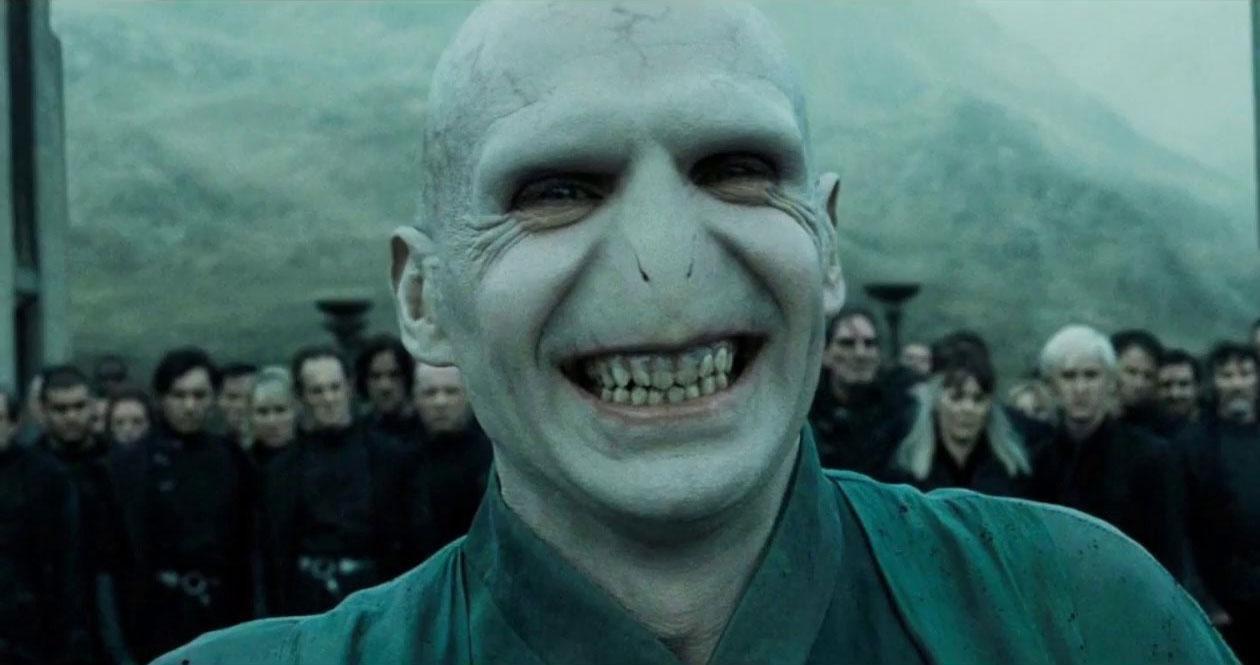 'Harry Potter' y el terrorífico diseño original de Voldemort