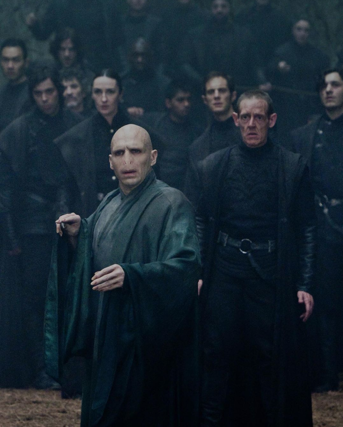 "In the ""Harry Potter"" Movies, Voldemort's Robes Faded in Color Every Time a Horcrux Was Destroyed"