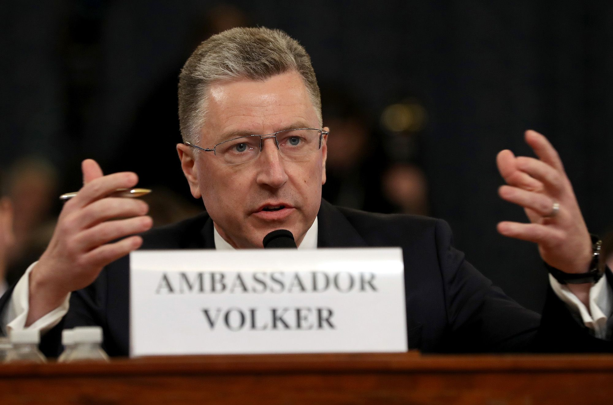 Republicans Called Kurt Volker, But He Didn't Help Their Case