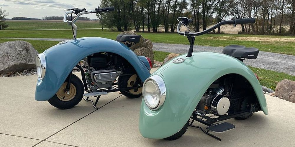 These 'Volkspods' Are Part VW Beetle, Part Scooter For The Coolest Ride Out There