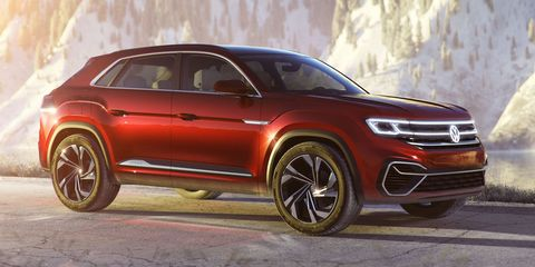 2020 Volkswagen Atlas Cross Sport to Get New Tech, Will Share Some with Full VW Lineup