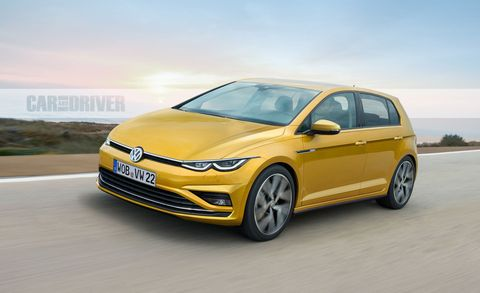 2021 Volkswagen Golf Mark 8 What We Know About The New