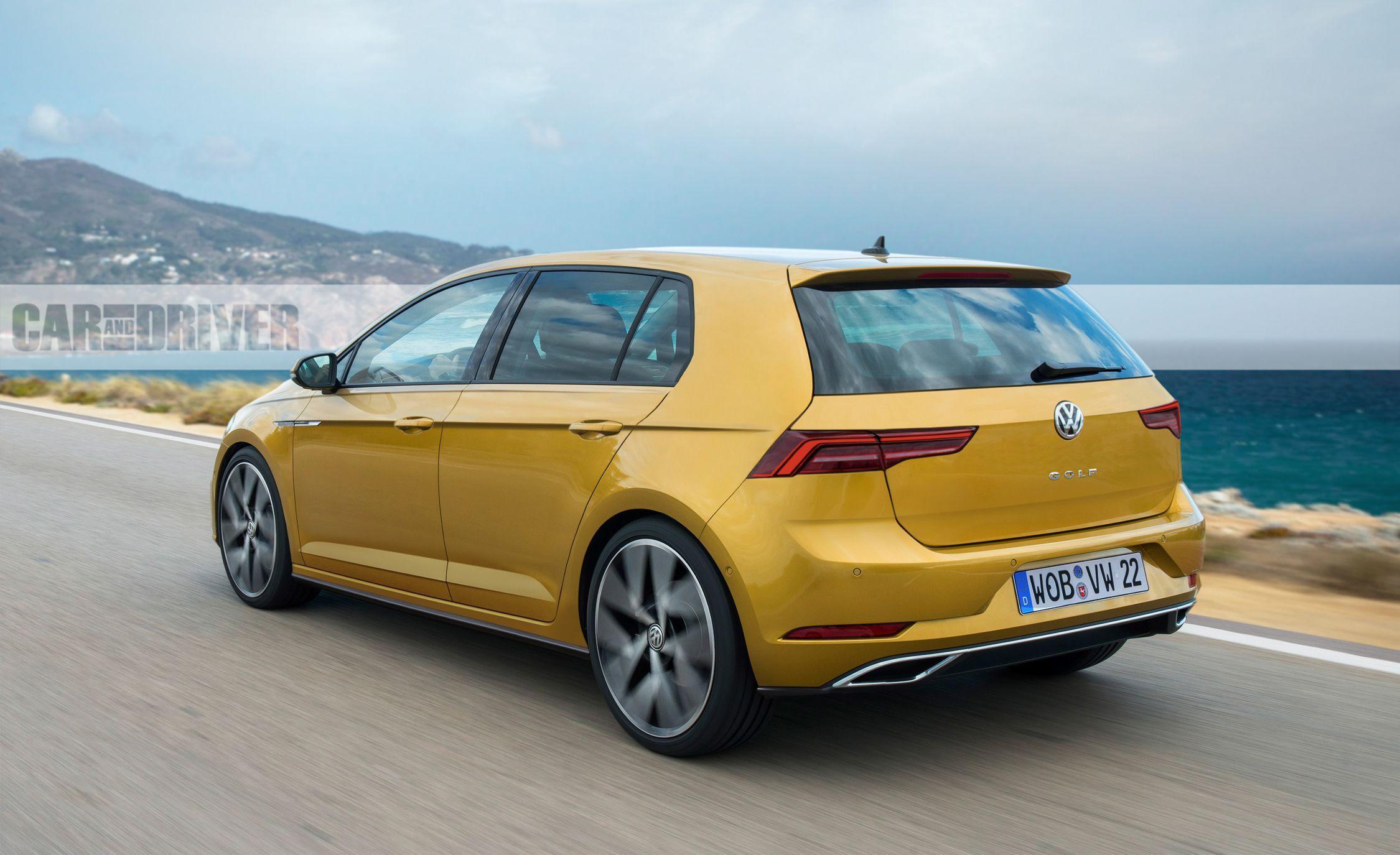 VWVortex.com - All-New Volkswagen Golf MKVIII Is Nabbed In
