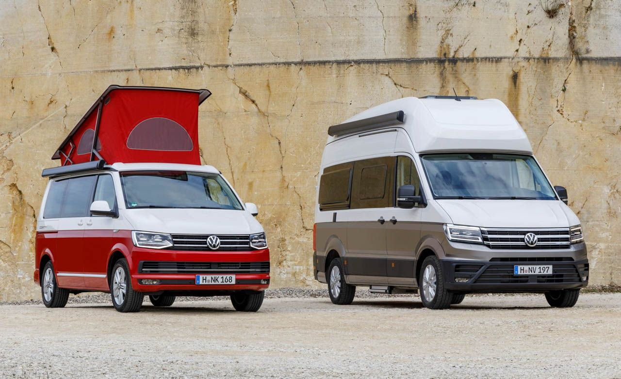 Volkswagen Grand California Is A Fully Outfitted Pop Top Camper Van