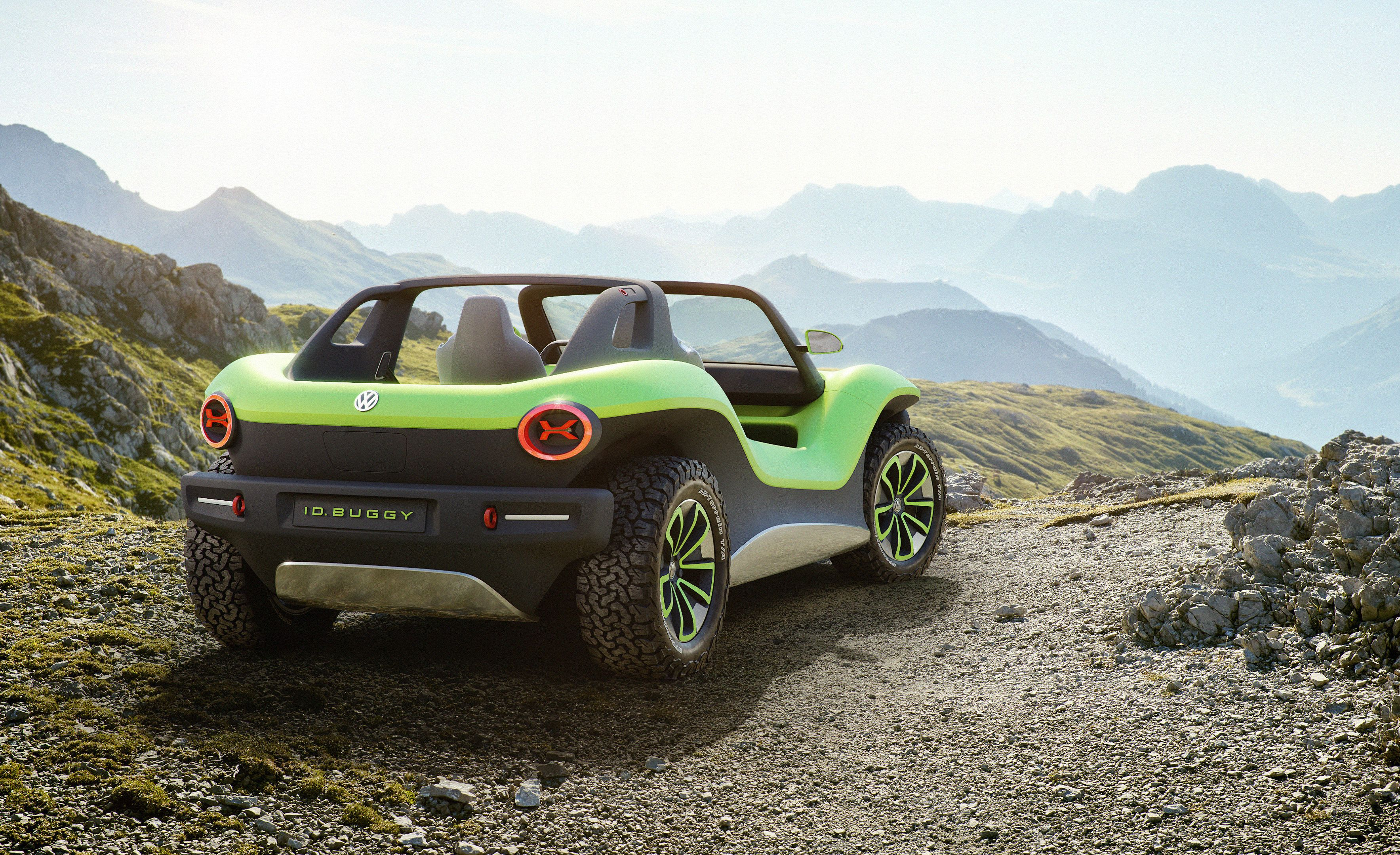 Volkswagen I D  Buggy – All-Electric Dune Buggy Concept