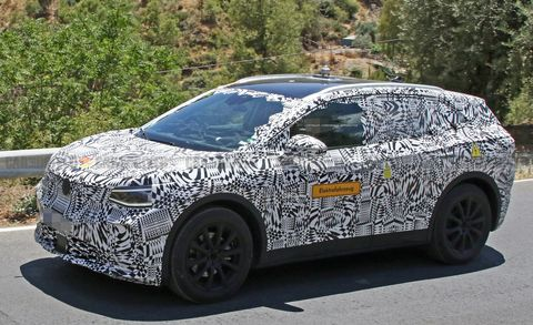 Volkswagen I.D. Crozz spy photos