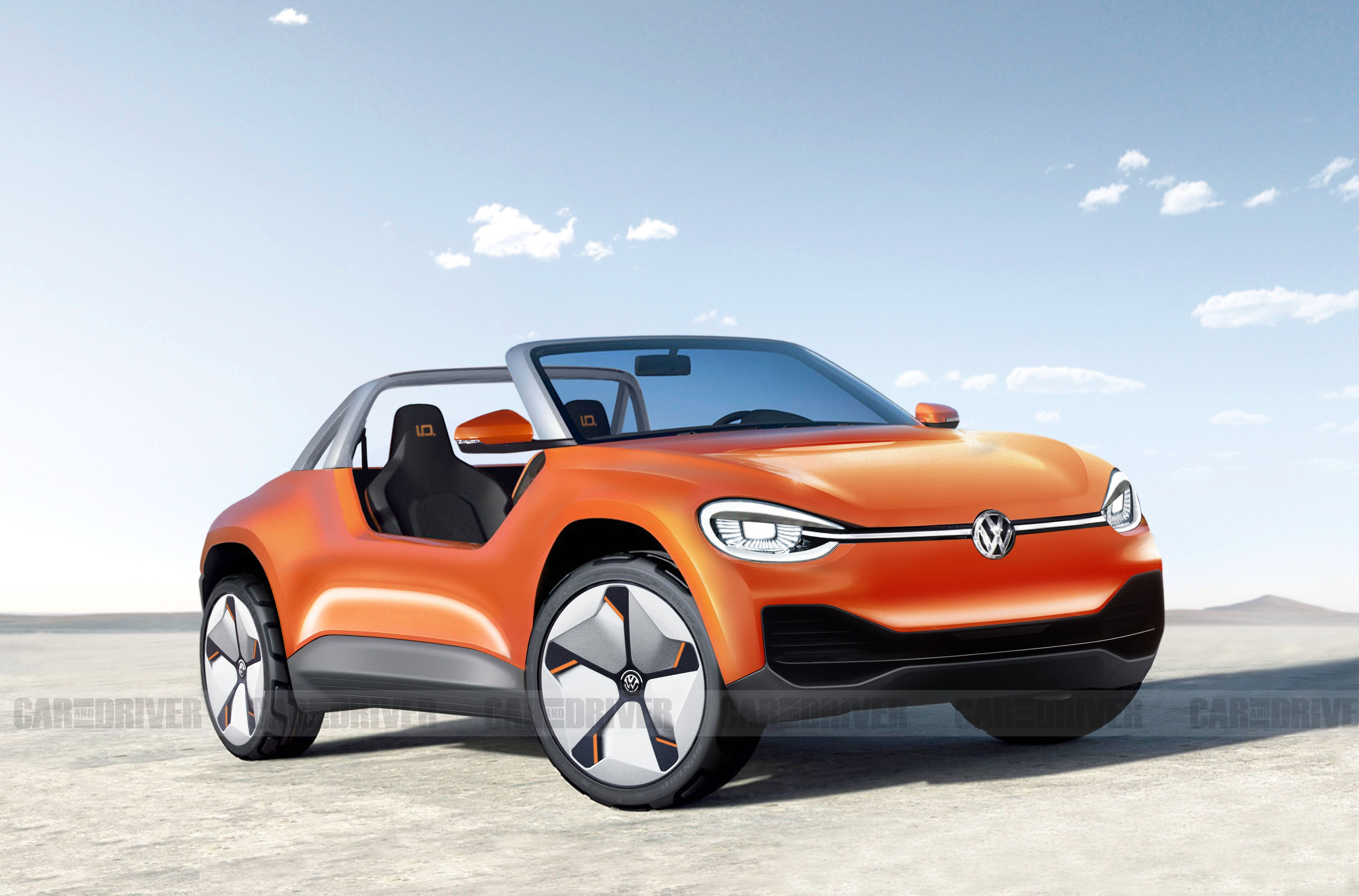 Volkswagen Envisions The Classic Dune Buggy As An Ev