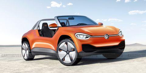 Volkswagen Dune Buggy EV