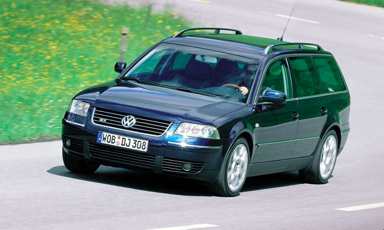 The Passat's W-8 Engine Sounds Simply Delightful