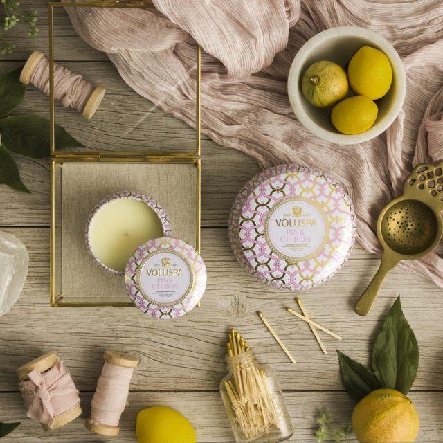 voluspa pink citron candle
