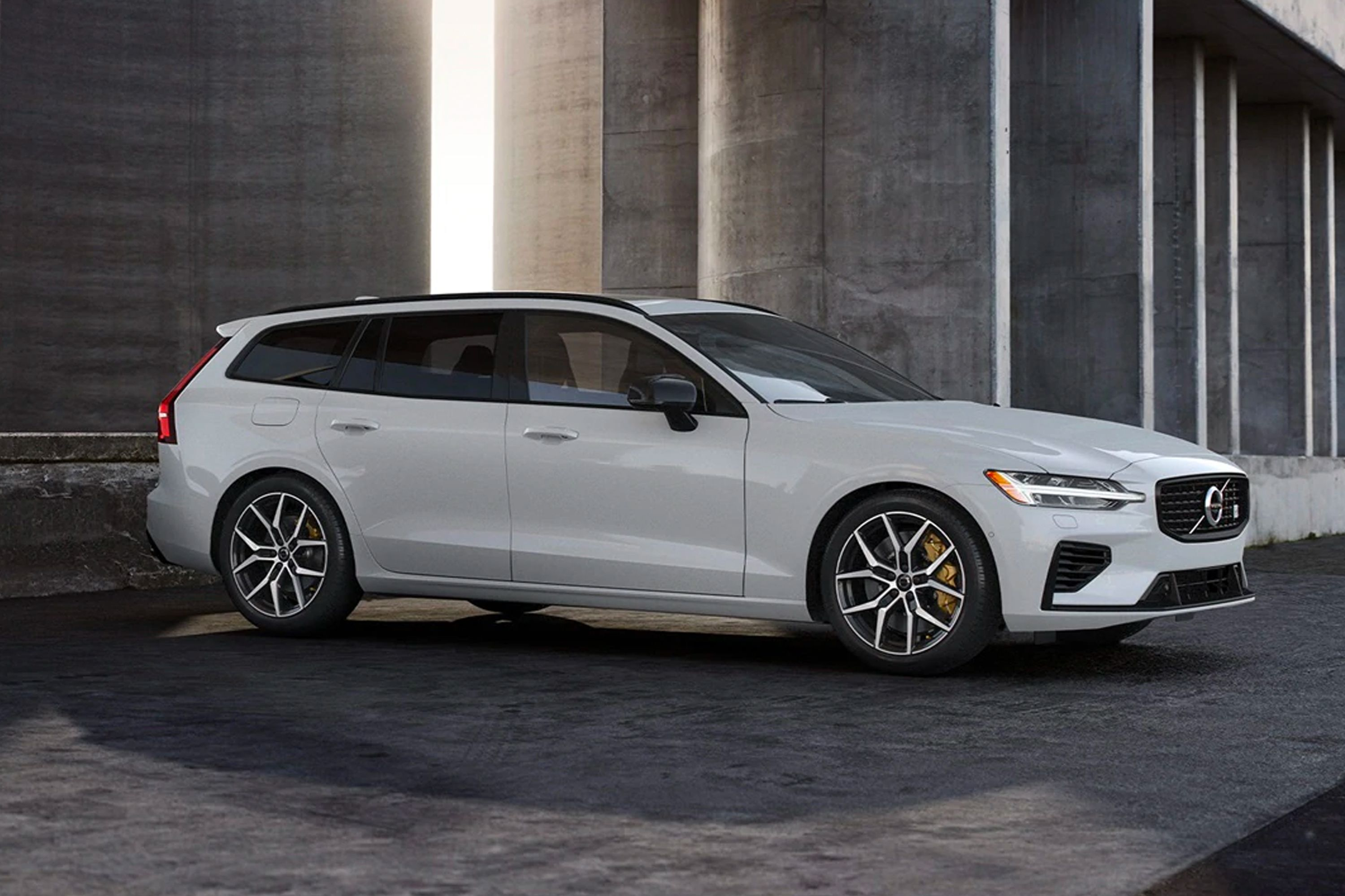 The Polestar Tuned Volvo V60 T8 Is The Perfect Dad Station Wagon